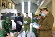 Lạng Sơn: Chặn ô tô chở hơn 37.000 khẩu trang trị giá gần 60 triệu đồng