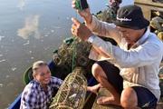 Kỳ thú săn loài cua đá bán đắt tiền ở hòn Đá Bạc tỉnh Cà Mau