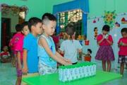 33.000 trẻ em miền núi Quảng Nam được uống sữa miễn phí
