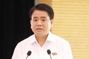 Chủ tịch Hà Nội Nguyễn Đức Chung thông tin về xử lý vi phạm đất đai Ba Vì, Sóc Sơn