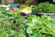 TP. Hồ Chí Minh: Rau xanh tăng giá mạnh