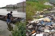 Cần Thơ: Công trình trăm tỷ ứ đầy rác thải ở lối đi bộ, ngập nước liên tục