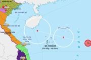 Áp thấp mạnh lên thành áp thấp nhiệt đới, cách Hoàng Sa 600km về phía Đông