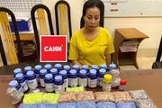 """""""Nữ quái"""" giấu gần 11 nghìn viên ma túy trong nhà"""