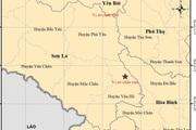 Nóng: Xảy ra 4 trận động đất liên tiếp ở Sơn La
