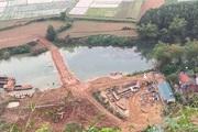 DN  ngang nhiên mở đường chở cát vượt sông, Lạng Sơn yêu cầu tháo dỡ
