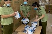 Quản lý thị trường HN tạm giữ 500.000 khẩu trang y tế có dấu hiệu không đạt chuẩn