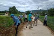 Nông dân chung sức, làng quê sạch - đẹp