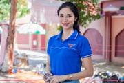 """Hot girl tiếp sức mùa thi ở Nghệ An """"gây thương nhớ"""""""