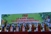 Sơn La: Khởi công xây dựng Trung tâm chế biến rau, quả Doveco 400 tỷ đồng