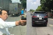 Giám đốc cầm súng đe dọa tài xế xe tải ở Bắc Ninh bị khởi tố, tạm giam