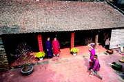 Nét đẹp làng quê, sợi chỉ gắn kết và bản sắc văn hóa dân tộc