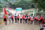 Xuân Mai Corp ủng hộ 2 cây cầu cho miền núi tỉnh Nghệ An