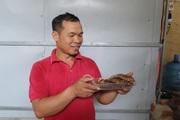 Đặc sản cá hun khói Chiềng La