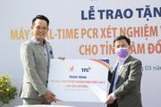 Tỉnh Lâm Đồng tiếp nhận máy REAL-TIME PCR xét nghiệm virus SARS-CoV-2