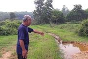Hà Tĩnh: Nông dân bất lực nhìn ruộng bị vùi lấp sau mỗi trận mưa
