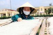 Nông dân Hà Tĩnh làm giàu từ thứ càng phơi nắng càng dai ngon