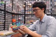 Chàng trai tái hiện nét đẹp Việt Nam bằng hàng triệu mảnh lego