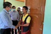 Quảng Nam: Niềm vui của người dân vùng sạt lở Trà Leng khi về nơi ở mới