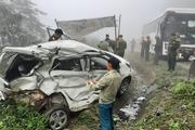 Cảnh báo: Trời mưa, đường trơn, liên tiếp xảy ra các vụ tai nạn trên quốc lộ 6