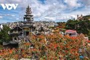 Cực độc đáo: Lạ mắt ngôi chùa bằng ve chai độc nhất vô nhị nắm giữ nhiều kỷ lục tại Lâm Đồng