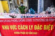 Hà Nội: Khẩn cấp phong toả ngõ 212 Khương Đình do có ca dương tính với SARS-CoV-2