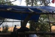 Bình Định: Cán bộ bất ngờ bị đánh, lán trại bảo vệ rừng cũng bị đốt cháy