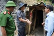 Quảng Nam dùng 6 tấn thuốc nổ đánh sập các hầm vàng trái phép: Tính mạng người dân phải được an toàn