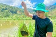 Lâm Đồng: Trai đẹp thôn Âm Phủ nuôi con không biết chạy, hàng năm nhả ngọc quý mà thu hàng trăm triệu đồng