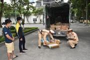 Ninh Bình: Bắt giữ hơn 1 tấn bì lợn, gà xay…không rõ nguồn gốc