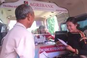 Agribank mang dịch vụ ngân hàng đến từng nhà