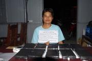 Điện Biên: Bắt đối tượng vận chuyển 10 bánh heroin