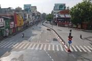 Nơi vắng vẻ, chỗ đông đúc trong ngày đầu TP Hà Nội thực hiện quyết định giãn cách