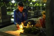 Lễ thắp nến tri ân các Anh hùng liệt sỹ hy sinh trên chiến trường Điện Biên Phủ