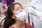 Bắc Giang: Xét nghiệm Covid-19 cho giáo viên, học sinh trước kỳ thi tốt nghiệp THPT tại tâm dịch Việt Yên