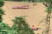 Lào Cai: Lật thuyền trên sông Chảy, một người đàn ông bị lũ cuốn mất tích