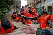 Trung Quốc cảnh báo đỏ sau khi số người chết vì lũ lụt đã lên tới 21