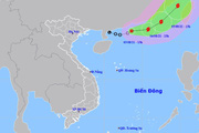 Áp thấp nhiệt đới trên Biển Đông mạnh lên thành bão, miền Bắc và miền Trung chịu nắng nóng diện rộng