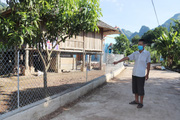 Hiến đất xây dựng nông thôn mới nâng cao ở Mường Bú: Đảng viên đi trước, làng nước theo sau