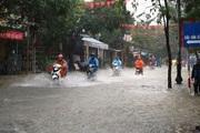 Hậu bão Conson: Mưa lớn tiếp diễn ở miền Trung