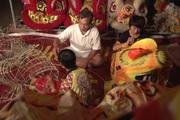 Làm đầu Lân ở miền quê ngoại thành Hà Nội lưu giữ ánh trăng rằm mỗi dịp tết Trung thu