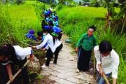 """Phụ nữ Hà Giang với phong trào """"môi trường xanh"""""""