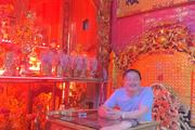 """Người xưng """"Ngọc hoàng đại đế"""" trấn yểm Covid-19 từ TP HCM về Hà Nội bị cách ly, xử lý"""
