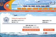 Gần 300.000 người tham gia cuộc thi trực tuyến tìm hiểu Luật Cảnh sát biển Việt Nam