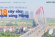 Hà Nội: Chi tiết 18 cây cầu bắc qua sông Hồng