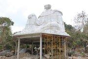 Vụ xây tượng Bà Chúa Xứ thứ 2 ở núi Sam: Sẽ tháo dỡ trong tuần này