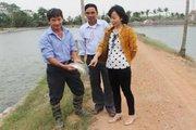 Vào tổ liên kết nuôi cá, nông dân làm ăn thêm thuận lợi