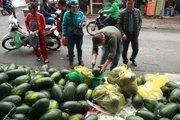 Hà Nội: Giải cứu nông sản vì không xuất khẩu được sang Trung Quốc