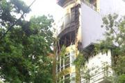 Trụ sở cũ của báo VietNamNet phát hỏa
