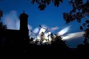 Đám mây lạ trên bầu trời Khánh Hòa